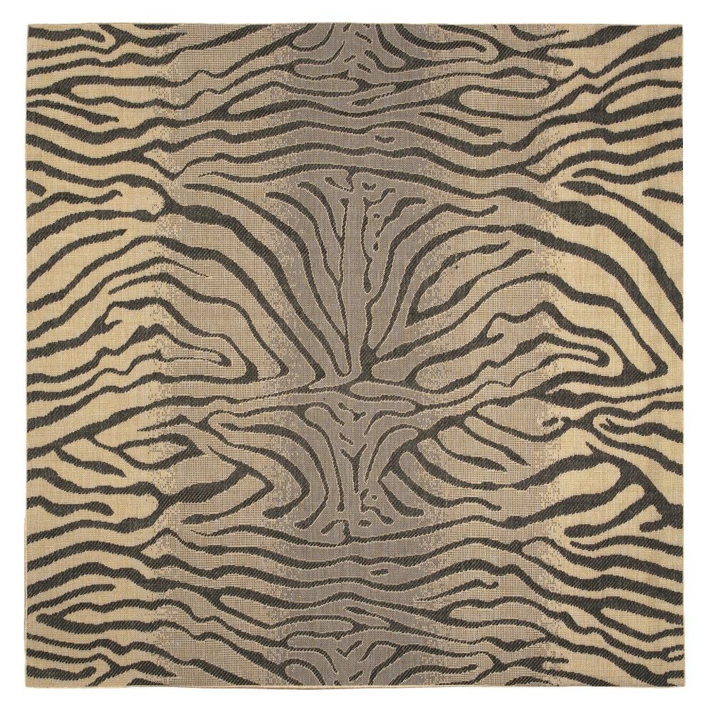 Liora Manne Terrace Zebra Indoor/Outdoor Area Rug - Gray (7'10