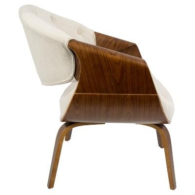 Superieur Curvo Mid Century Modern Accent Chair   Lumisource : Target