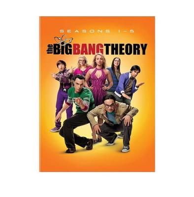 Big Bang Theory: Season 1-5 Bundle (DVD)