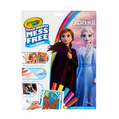 Crayola Color Wonder Frozen 2 Coloring Pages Set