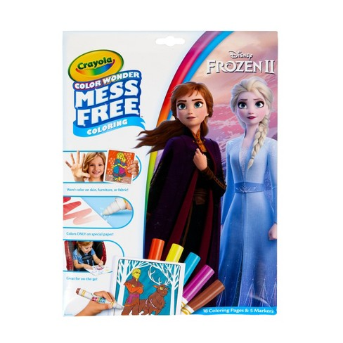 Crayola Color Wonder Frozen 2 Coloring Pages Set - image 1 of 4
