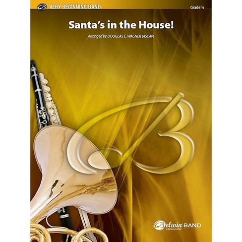Alfred Santa's in the House! Concert Band Grade 0.5 Set - image 1 of 1