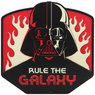 Star Wars Galaxy Rule Metal Sign