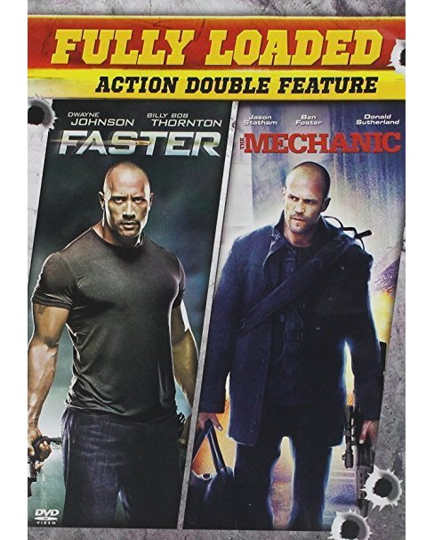 Faster/Mechanic (DVD) - image 1 of 1
