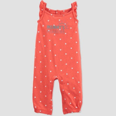 Baby Girls' 'Mommy's Sunshine' Romper - Just One You® made by carter's Pink Newborn