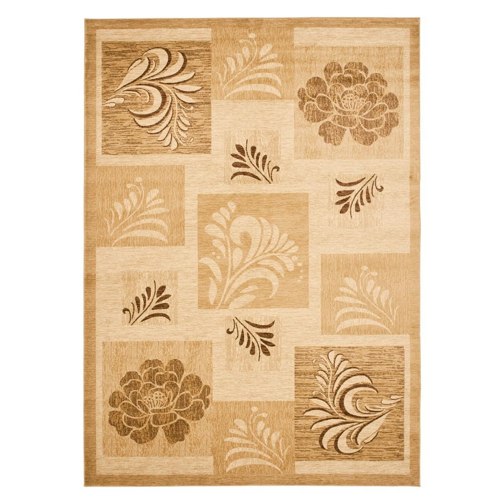 8'X11' Floral Loomed Area Rug Ivory - Safavieh, Ivory/Multi-Colored