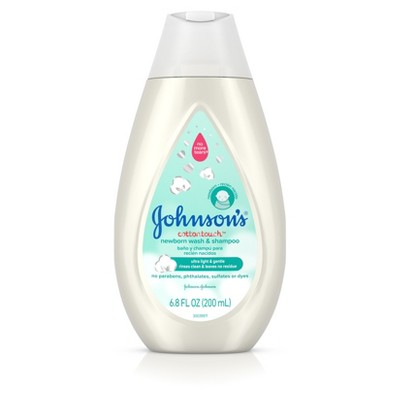 Johnson's Cotton Touch 2-in-1 Wash - 6.8oz