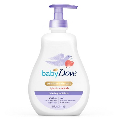 Baby Dove Calming Moisture Sensitive Skin Night Time Wash - 13 fl oz