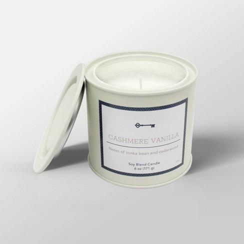 6oz Tin Jar Candle - Threshold™ - image 1 of 2