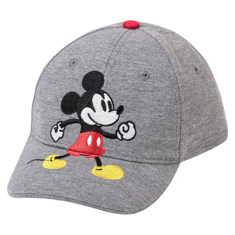 Disney$#174; Toddler Boys' Mickey Mouse Baseball Hat - Heather Gray