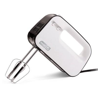 Dash SmartStore Hand Mixer - White SHM01DSWH