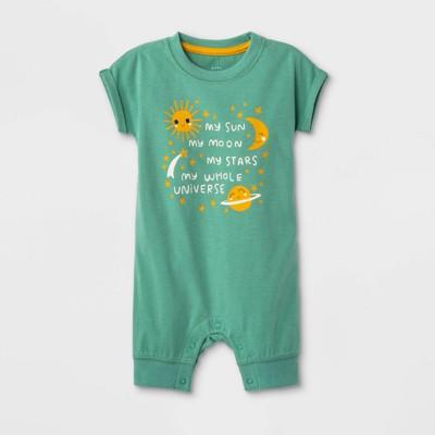 Baby Boys' Universe Romper - Cat & Jack™ Green 6-9M