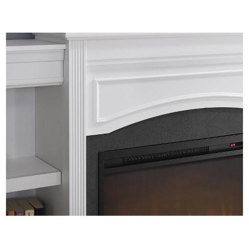 Hayman Mantel Fireplace White Room Joy Target