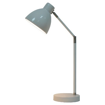 Desk Task Lamp with Touch On/Off White - Pillowfort™