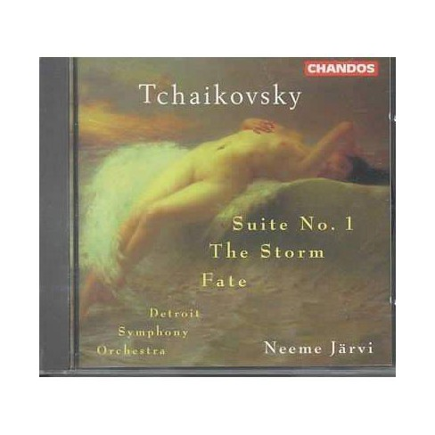 Detroit Symphony Orc - Tchaikovsky:Suiteno 1/Fate/The Storm (CD) - image 1 of 1