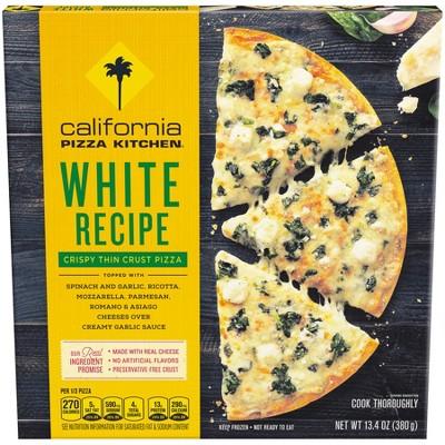 california pizza kitchen crispy thin crust white frozen pizza 12 rh target com california kitchen frozen pizza calories california kitchen frozen pizza review