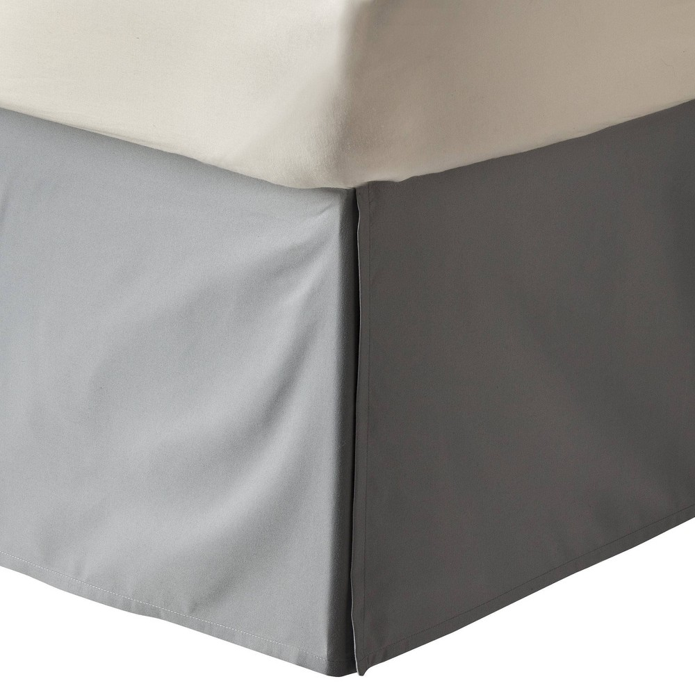 Gray Solid Bed Skirt King Room Essentials 8482