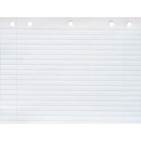 School Smart Cursive Ruled Notebook Paper, 10-1/2 x 8 Inches, White, 500 Sheets - image 1 of 1