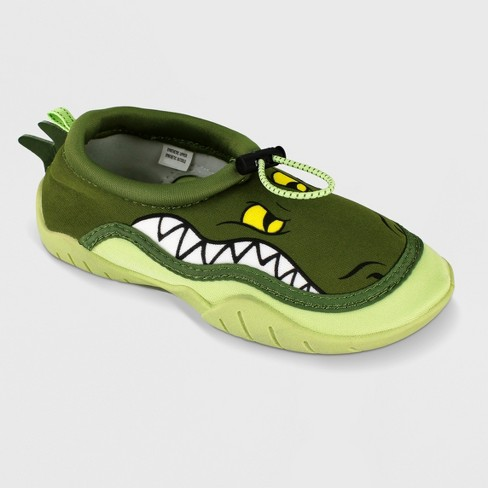 Toddler Boys' Body Glove Croc Water Shoes - Croc Green - image 1 of 5