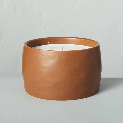 35oz Harvest Spice 5-Wick Speckled Ceramic Fall Candle - Hearth & Hand™ with Magnolia - image 1 of 3
