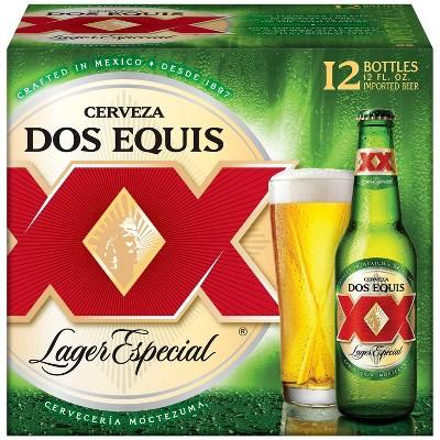 Dos Equis Lager Especial Beer 12pk 12 Fl Oz Bottles Target