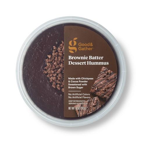 Brownie Batter Dessert Hummus - 10oz - Good & Gather™ - image 1 of 3
