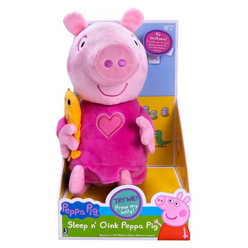 ae3d71a6a Peppa Pig Slumber N' Oink Peppa Plush : Target