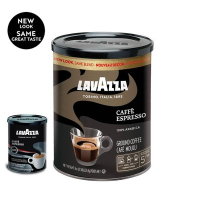 Lavazza Caffe Espresso Roast Dark Roast Ground Coffee - 8oz