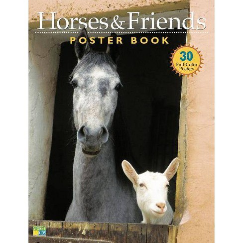 Horses & Friends Poster Book - by  Bob Langrish (Paperback) - image 1 of 1