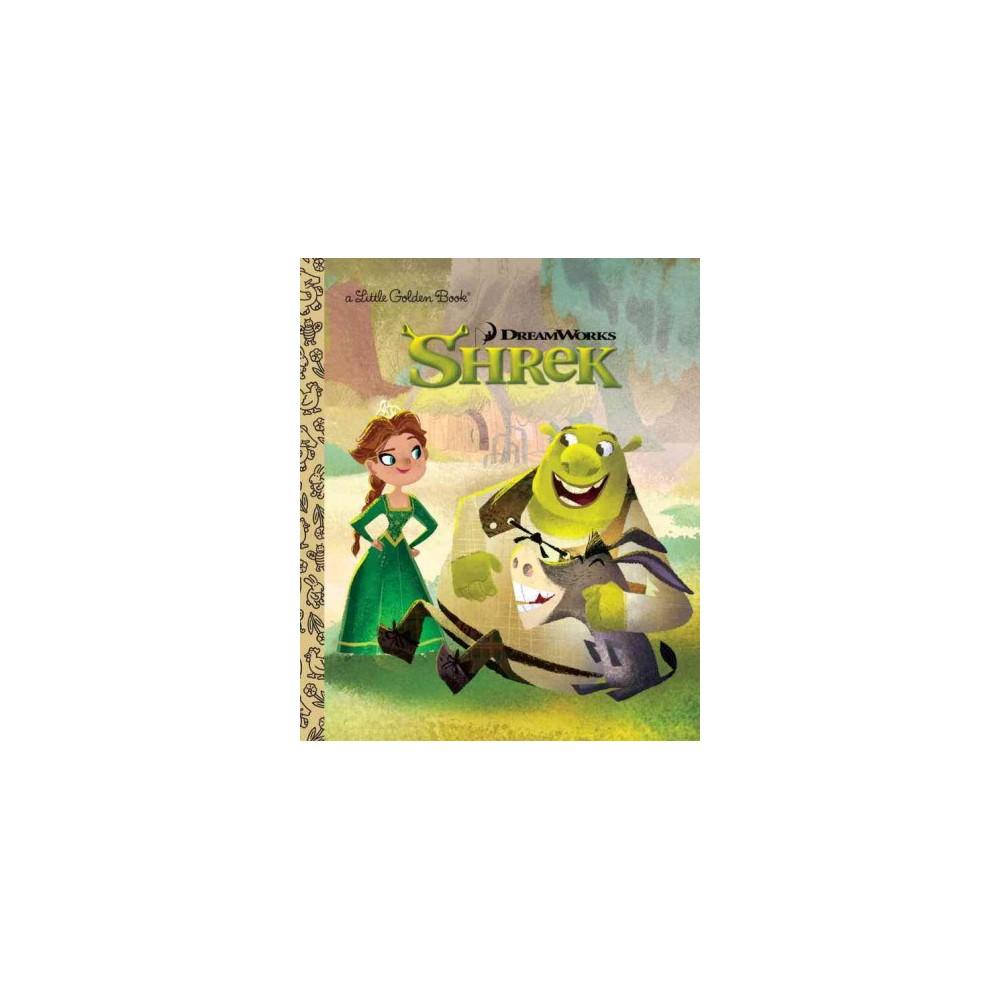 Dreamworks Shrek Little Golden Book Hardcover