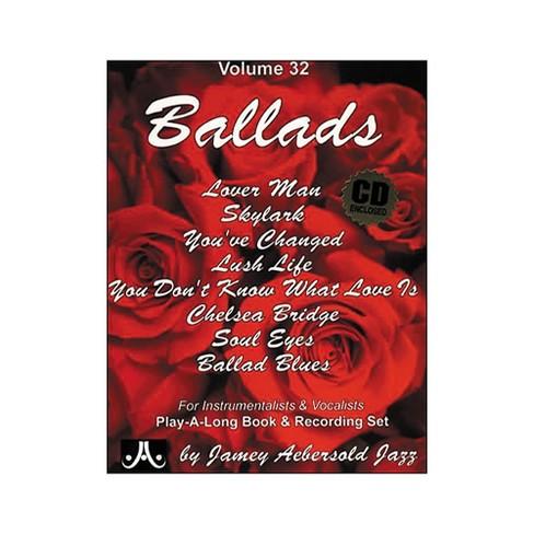 Jamey Aebersold (Vol. 32) Ballads - image 1 of 1