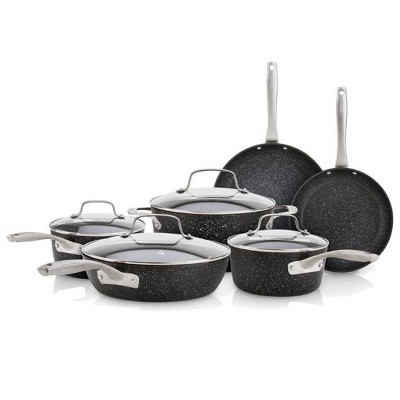 Bialetti Titan 10pc Cookware Set