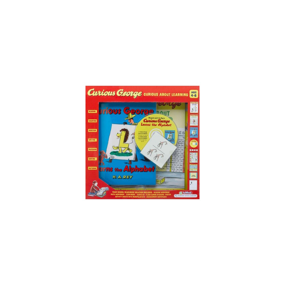 Curious George Curious About Learning (Workbook) (Mixed media product)
