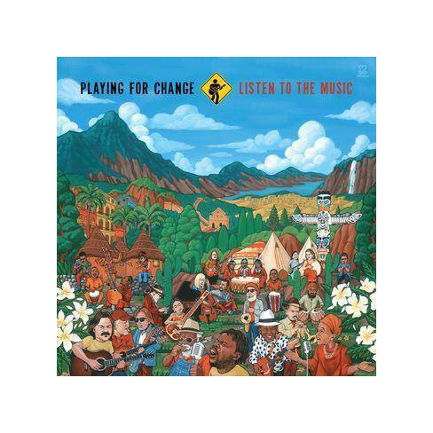 Playing For Change - Listen To The Music (CD) - image 1 of 1