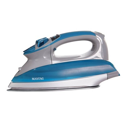 Maytag M1400 Smartfill Digital Iron and Vertical Steamer Blue/Gray