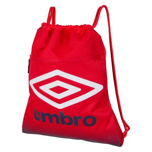 Umbro Duotone Drawstring Bag - Red/Navy - image 1 of 4