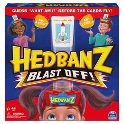 Hedbanz Blast Off Guessing Board Game