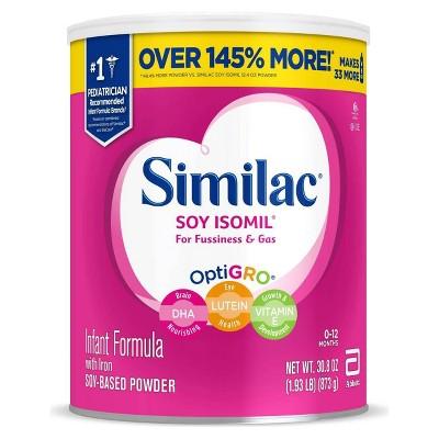 Similac Soy Isomil Infant Formula Powder with Iron - 30.8oz