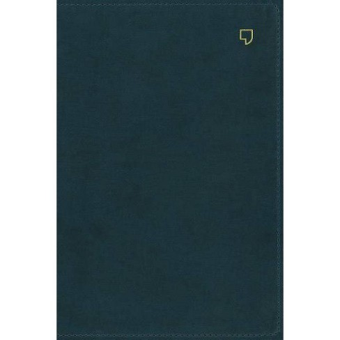 Net Bible, Single-Column Reference, Leathersoft, Teal, Comfort Print - by  Thomas Nelson (Leather_bound) - image 1 of 1