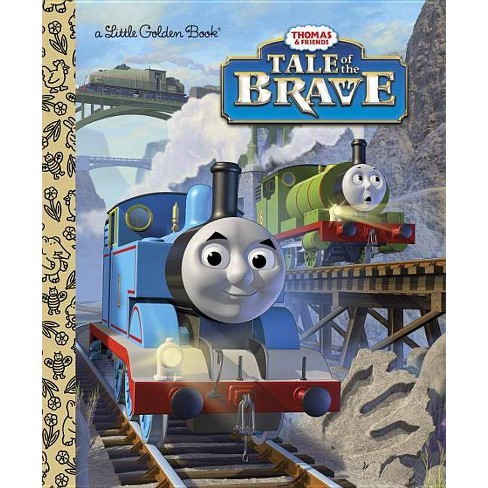 Tale of the Brave (Thomas & Friends) - (Little Golden Book) by  W Awdry (Hardcover) - image 1 of 1