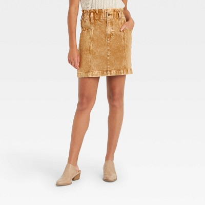 Women's Mini Denim Skirt - Universal Thread™