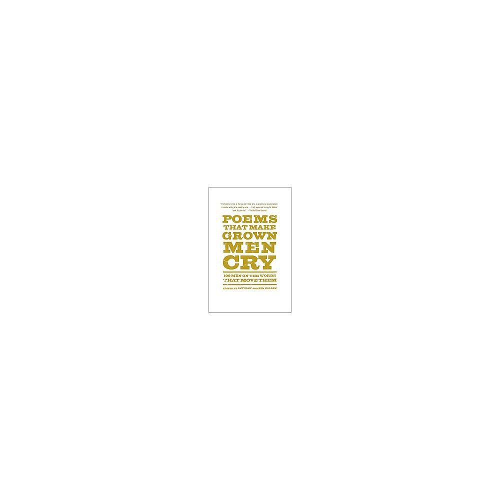 Poems That Make Grown Men Cry (Reprint) (Paperback)