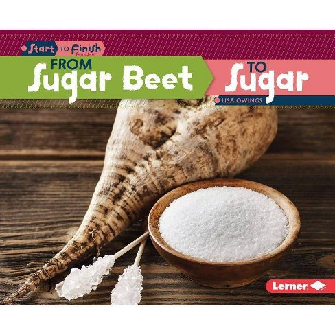 From Sugar Beet to Sugar - (Start to Finish, Second) by  Lisa Owings (Hardcover) - image 1 of 1