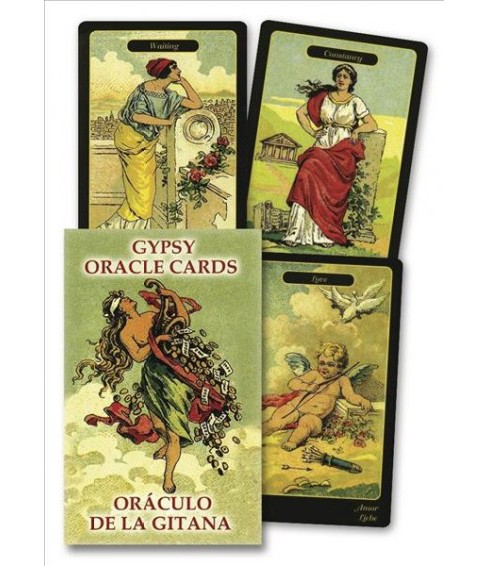 Gypsy Oracle Cards -  by Lo Scarabeo (Paperback) - image 1 of 1