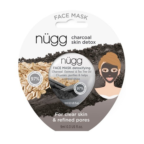 Nugg Charcoal Face Mask - 0.33 fl oz - image 1 of 8