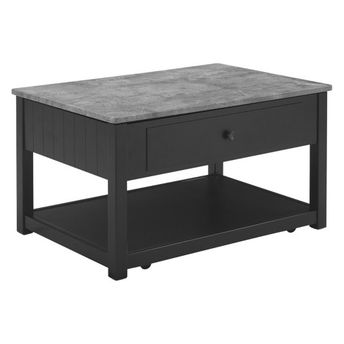 Ezmonei Lift Top Tail Table Black Gray Signature Design By Ashley