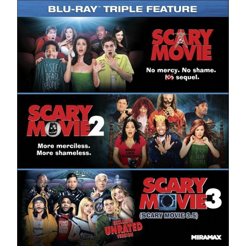 Scary Movie 1 3 3 Discs Blu Ray Target