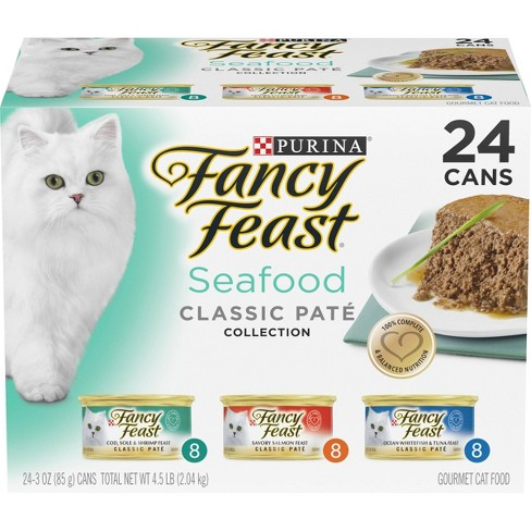 Fancy Feast Seafood Classic Wet Cat Food - image 1 of 4