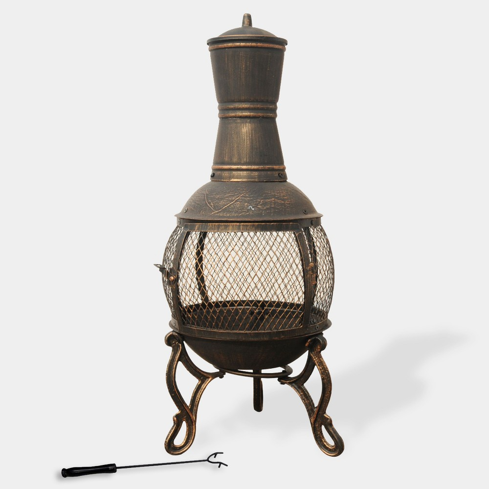 Image of Cast Iron Chimney - Bronze - Leisurelife