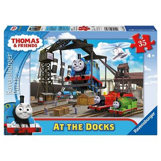 Ravensburger Thomas And Friends At The Docks Puzzle 35pc